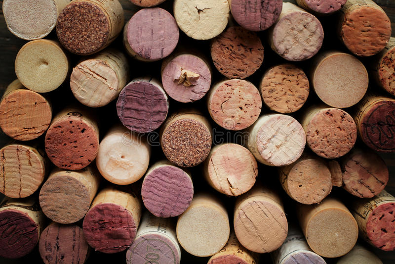 Korkenwein lizenzfreie stockfotografie