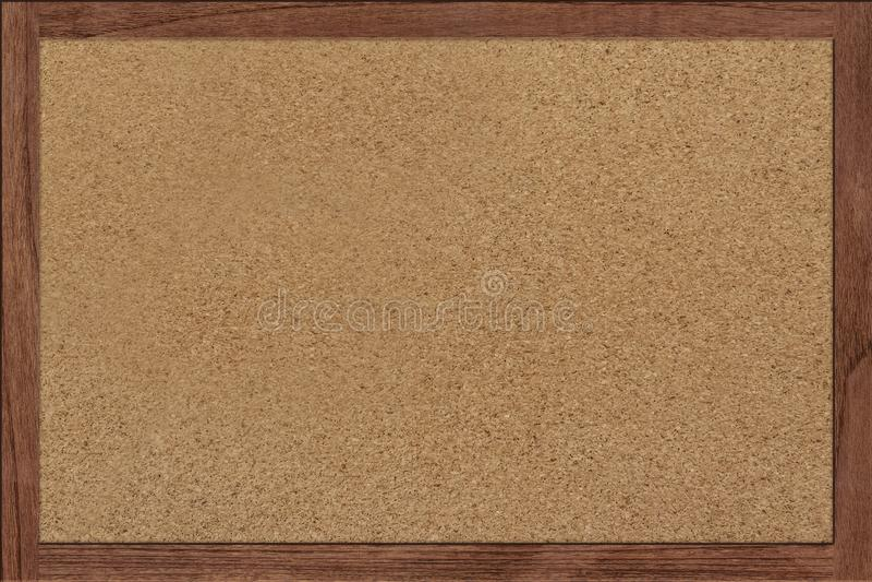 Korkowej deski masażu pusta pusta drewniana nutowa deska zdjęcie royalty free