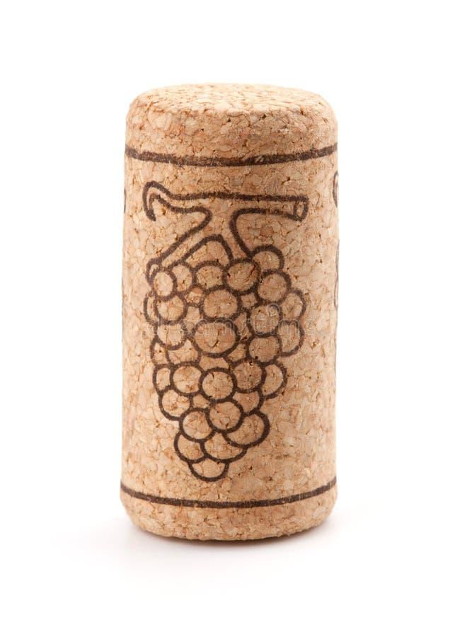 korkowy gronowy wino obrazy stock