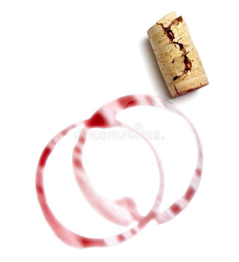 korkowy napoju ocen wino zdjęcia royalty free