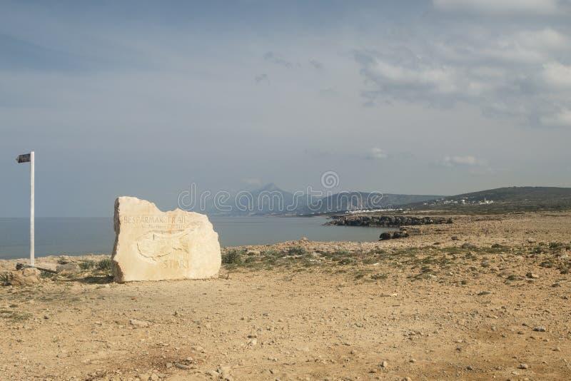 Kormakitis cape, Northern Cyprus royalty free stock photos