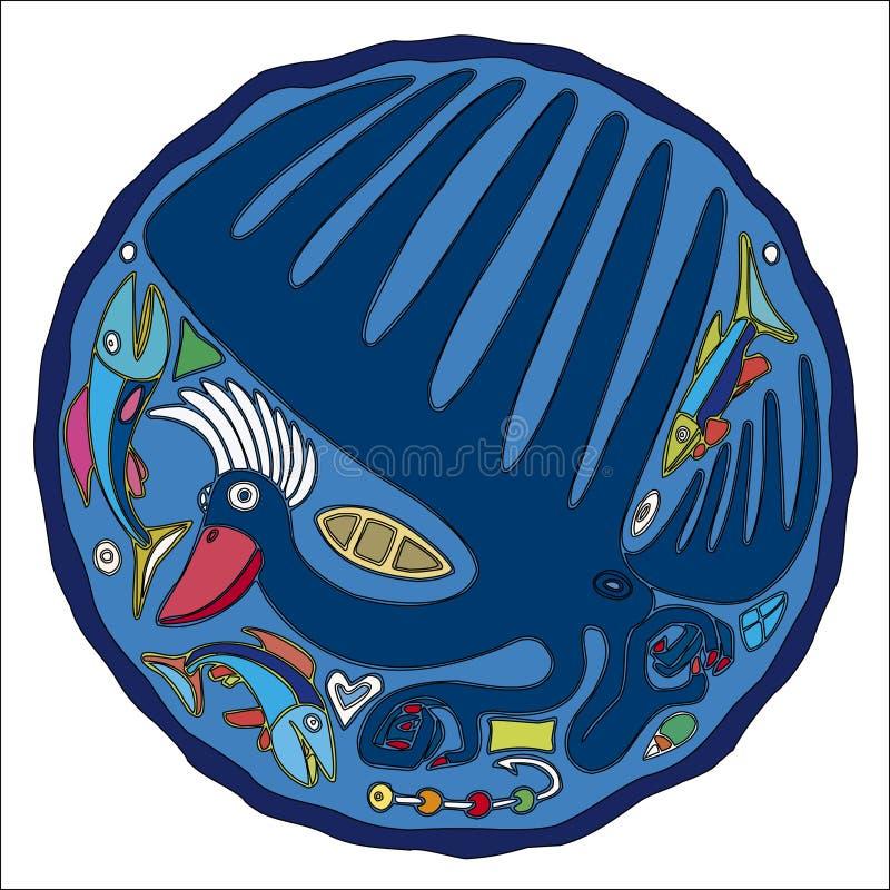 kormoranów ilustracji
