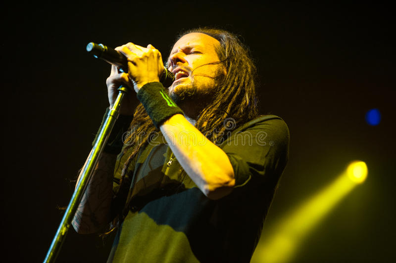 Download Korn concert editorial photography. Image of guitar, person - 34124792