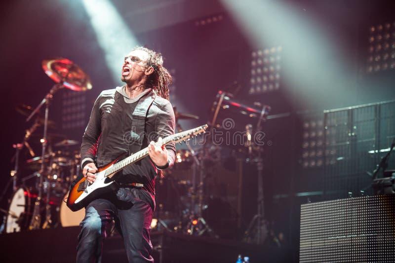 Korn konsert arkivfoton
