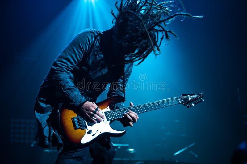 Korn konsert arkivbild