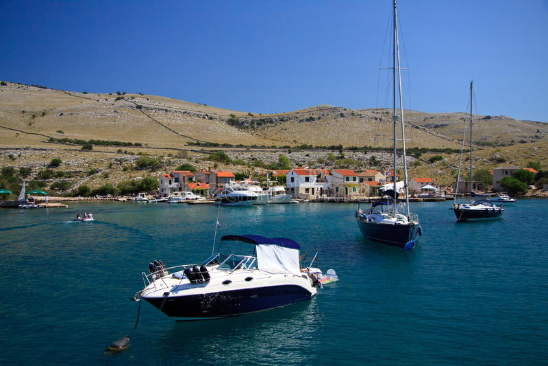 kornati νησιών της Κροατίας στοκ φωτογραφία με δικαίωμα ελεύθερης χρήσης