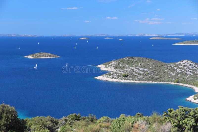 Kornati, Croatia stock photo