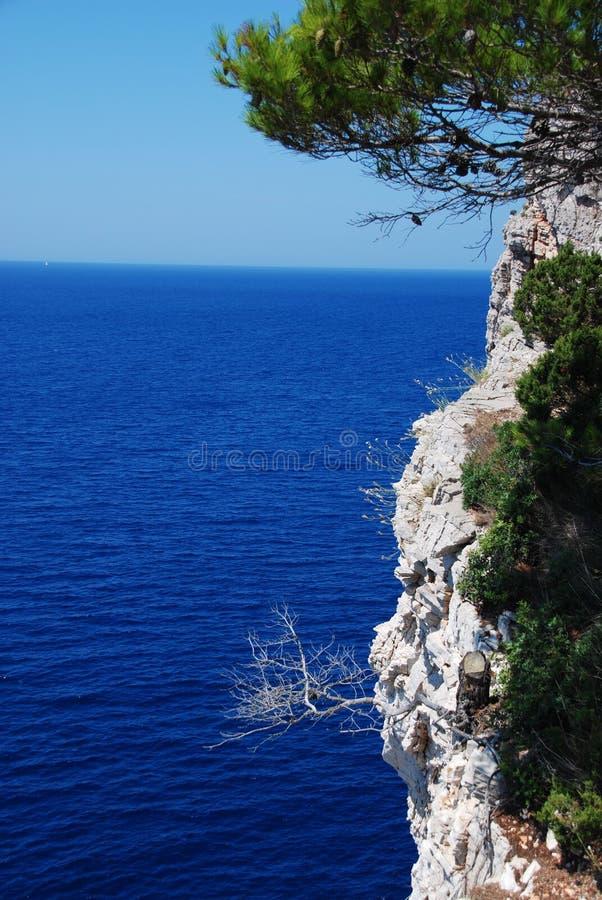 kornati de la Croatie d'archipel images libres de droits