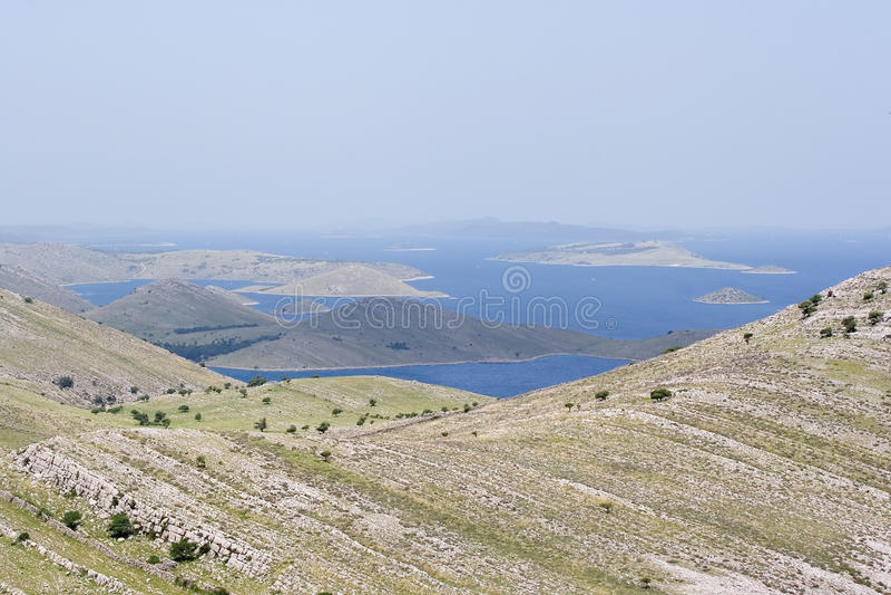 Kornati islands stock photo