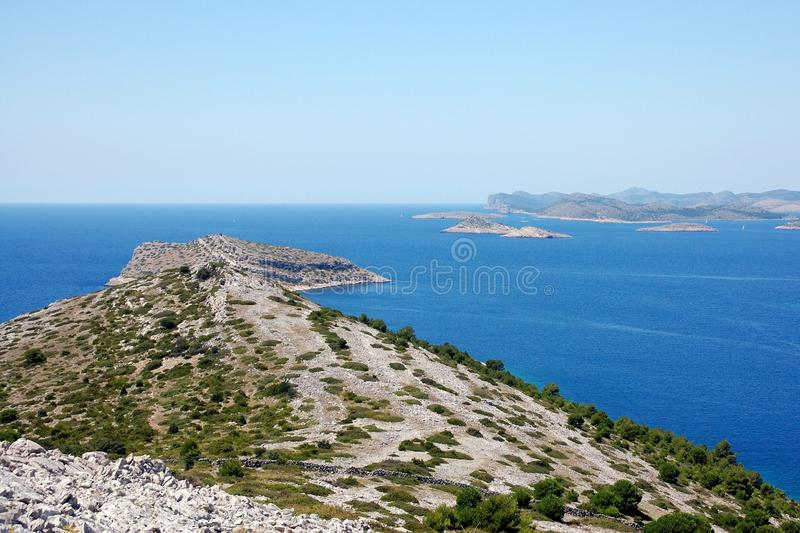 Kornati islands 8 stock photography