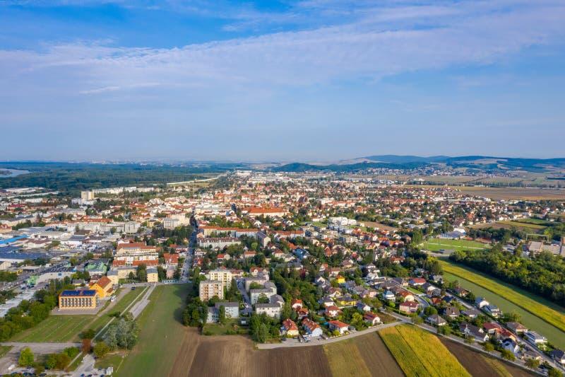 Korneuburg à Niederösterreich, Weinertel, Autriche photos stock