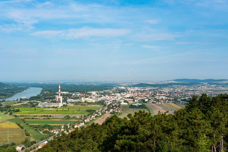 Korneuburg à Niederösterreich, Weinertel, Autriche photographie stock libre de droits