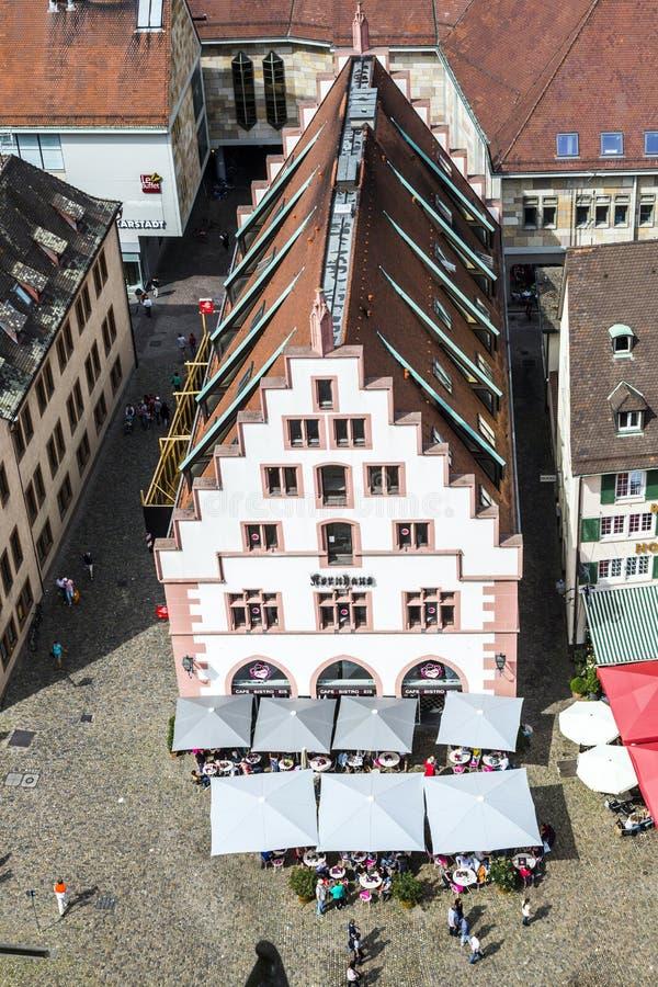 Kornhaus medieval en Freiburg-im-Breisgau foto de archivo libre de regalías