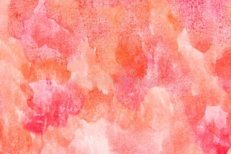 Kornig bakgrund för vattenfärg royaltyfri foto