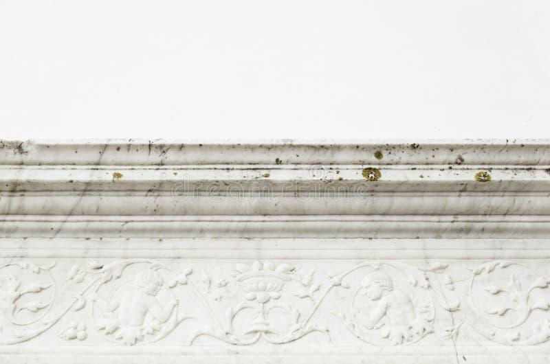 Kornisch för dekorativ sten arkivfoton
