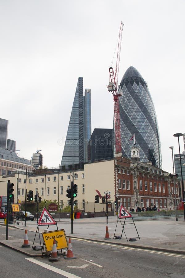Download Korniszonu Budynek W Londyn, UK Obraz Stock - Obraz złożonej z skyscraper, okręg: 53778293