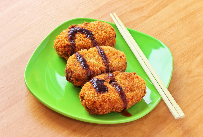 Download Korokke, Japanese Potato Croquettes Stock Image - Image: 30744867
