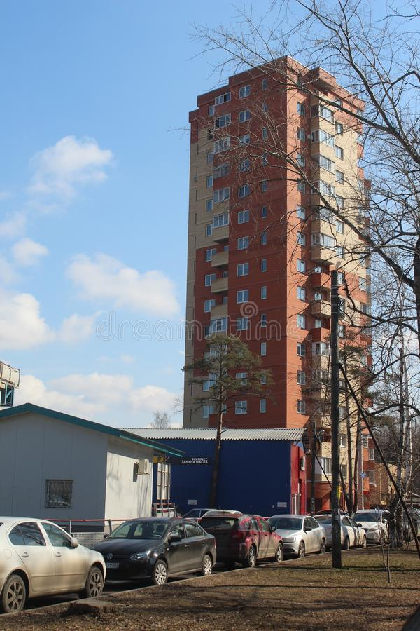 Korolev miasto Valentinovka Bolshevo Apartament zdjęcie royalty free