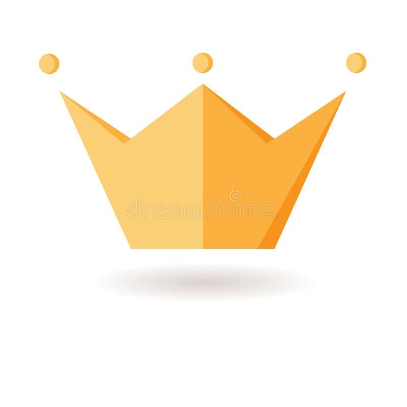 korona piłek władzy przerwy symbolu słowo Bajecznie ikona siła Odosobniony przedmiot f royalty ilustracja