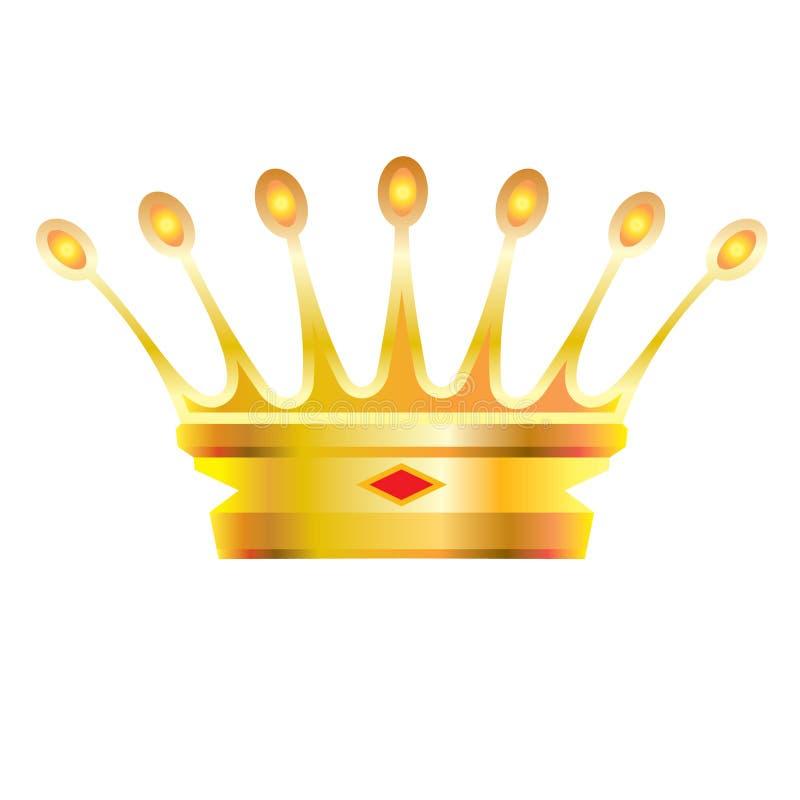 korona słoneczna royalty ilustracja