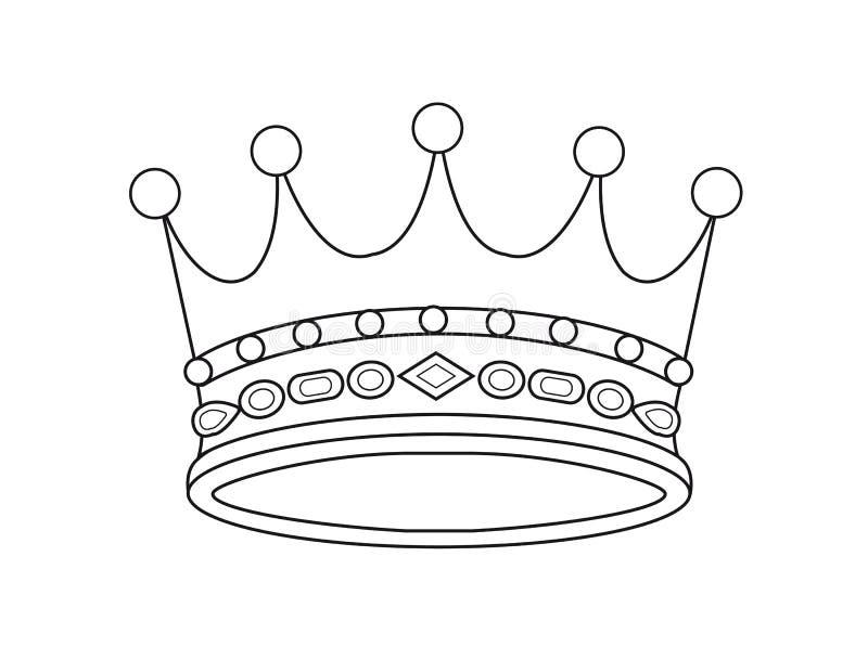 korona wektor ilustracja wektor