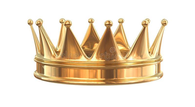 korona złota ilustracja wektor