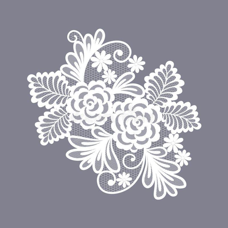 Koronka kwitnie dekoracja element ilustracji