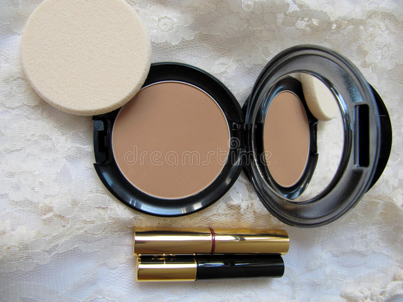 koronkowy makeup fotografia stock