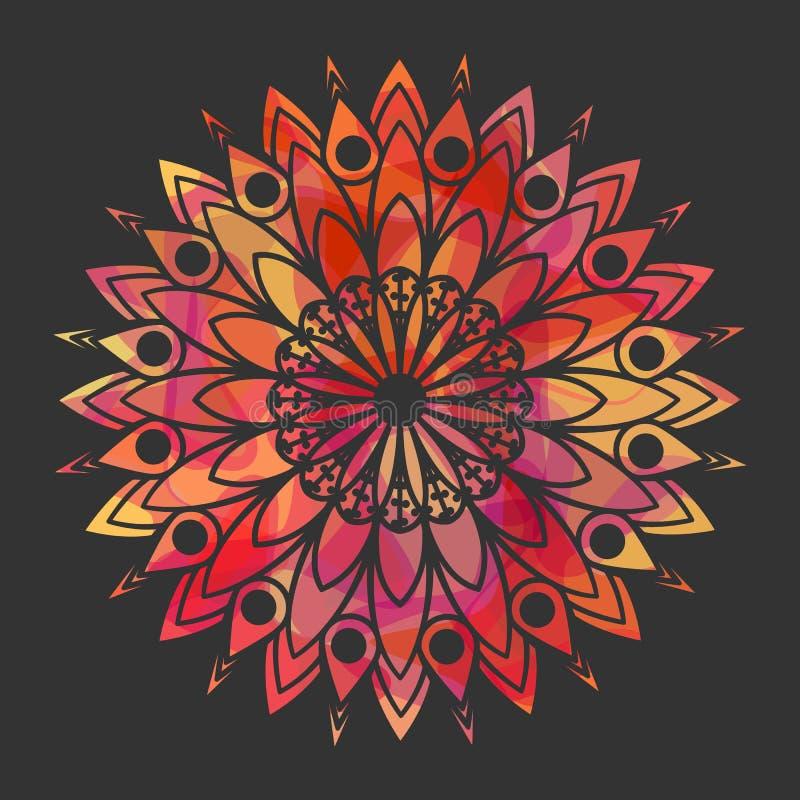 koronkowy ornamental koronkowy wzór ilustracji