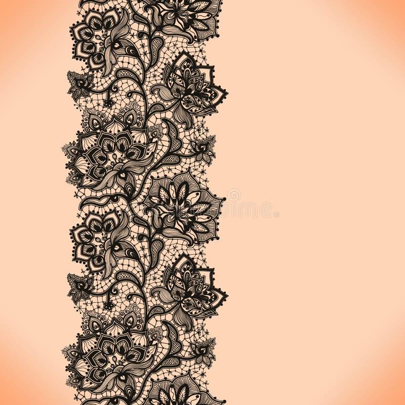 Koronkowy wzór royalty ilustracja