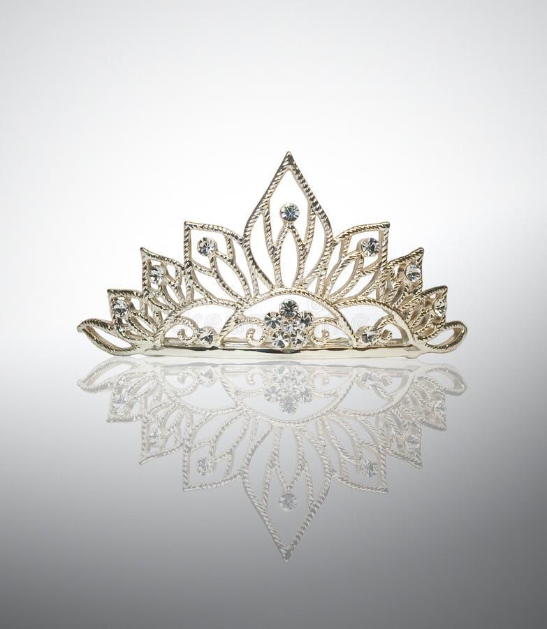 korony diademu odbicia tiara obraz royalty free