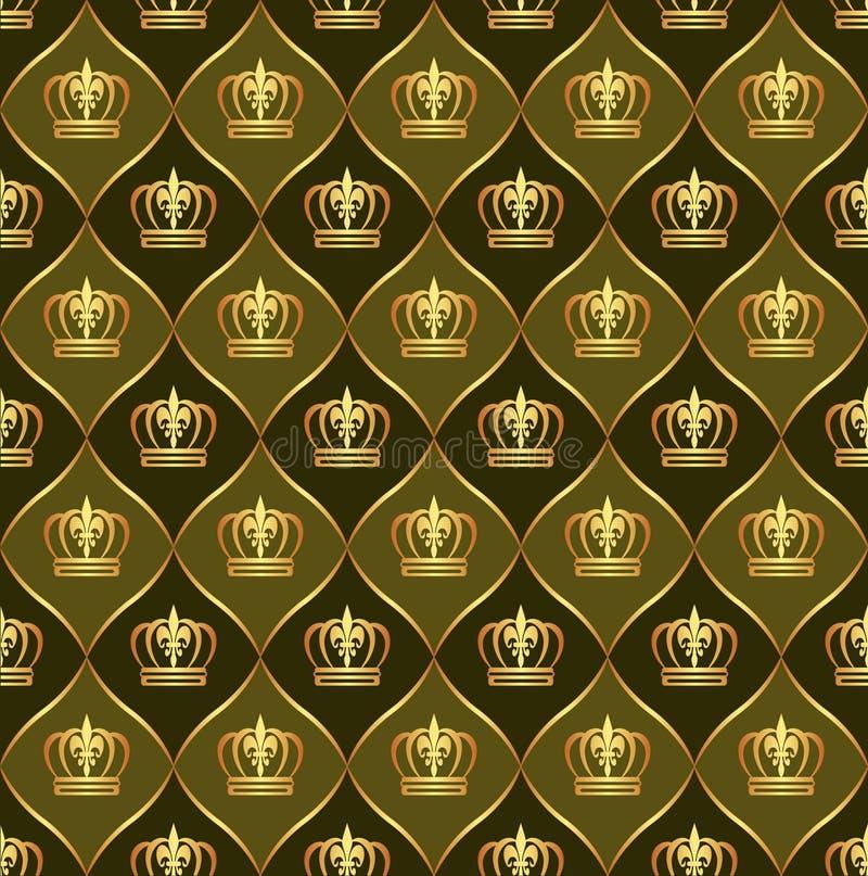 Download Korony tło korony ilustracja wektor. Obraz złożonej z odbijający - 24518467