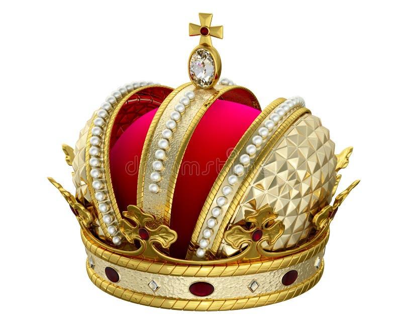 korony złoto zdjęcie stock