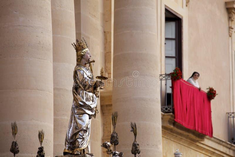 Download Korowód święty Lucia, Syracuse Zdjęcie Editorial - Obraz złożonej z rzeźba, religia: 28951556