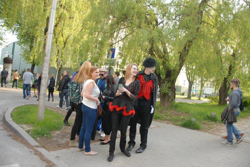 Korowod 2014 - studencki s wakacje zdjęcie royalty free