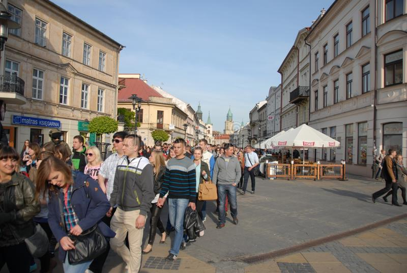 Korowod 2014 - studencki s wakacje obrazy royalty free