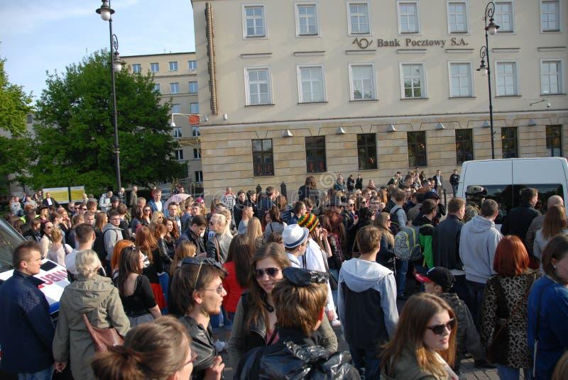 Korowod 2014 - studencki s wakacje zdjęcia stock