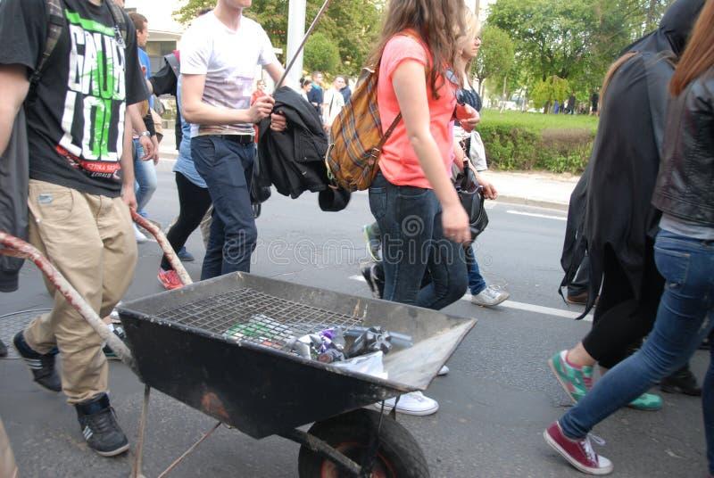 Korowod 2014 - studencki s wakacje zdjęcia royalty free
