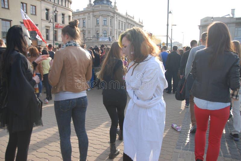 Korowod 2014 - studencki s wakacje fotografia royalty free