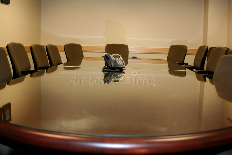 korporacja konferencji pokój obrazy royalty free