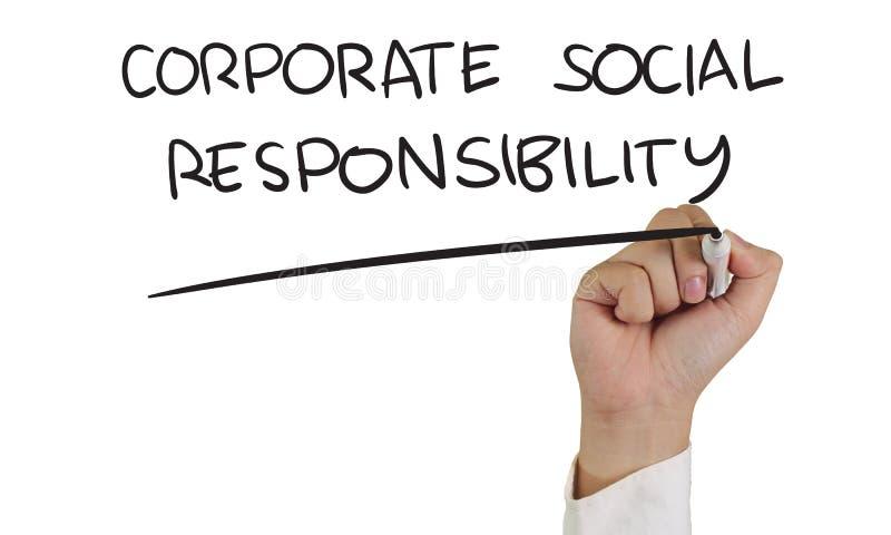 Korporacyjna odpowiedzialność społeczna zdjęcie stock