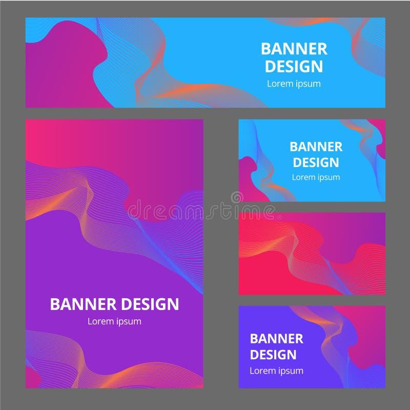 Korporacyjna tożsamość oznakuje szablon Wektorowy materiały projekt z drużynowej społeczności ogólnospołecznym Błękitnym tłem Biz ilustracja wektor