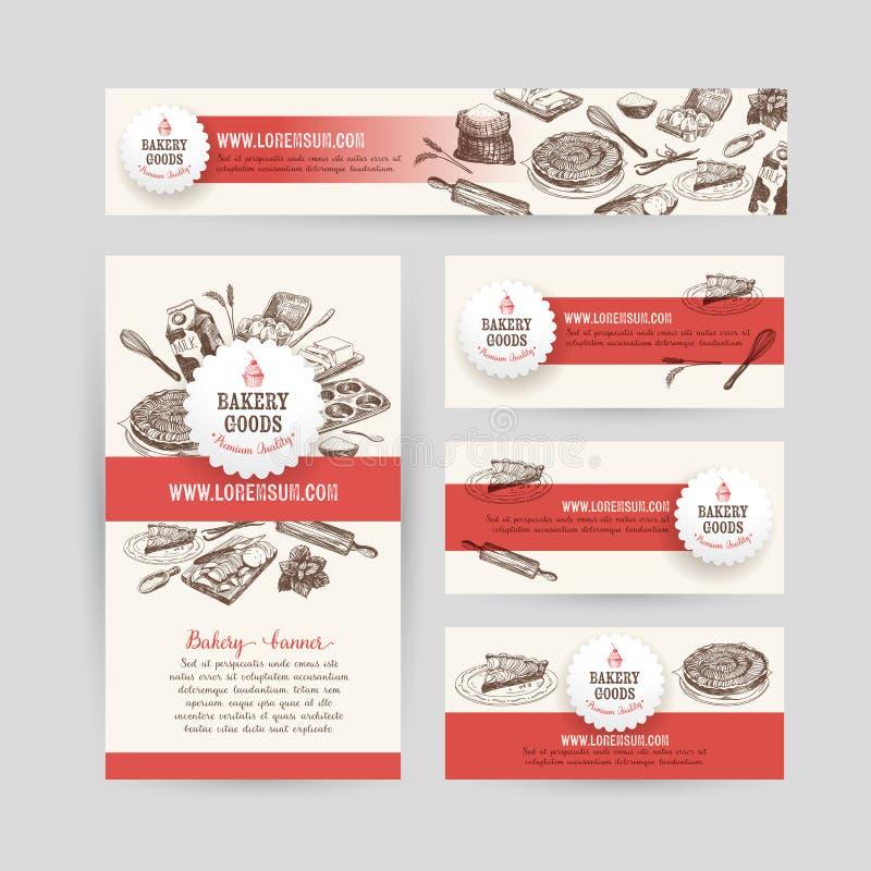 Download Korporacyjnej Tożsamości Biznesu Ustalony Projekt Z Pieczeniem Ilustracja Wektor - Ilustracja złożonej z doodle, grafika: 57673555