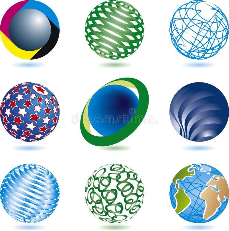 korporacyjni logowie fotografia royalty free