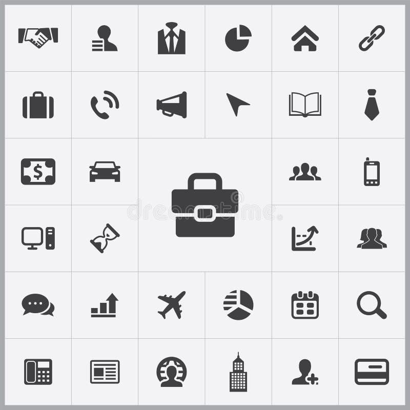 Korporacyjny ikony cechy ogólnej set ilustracji