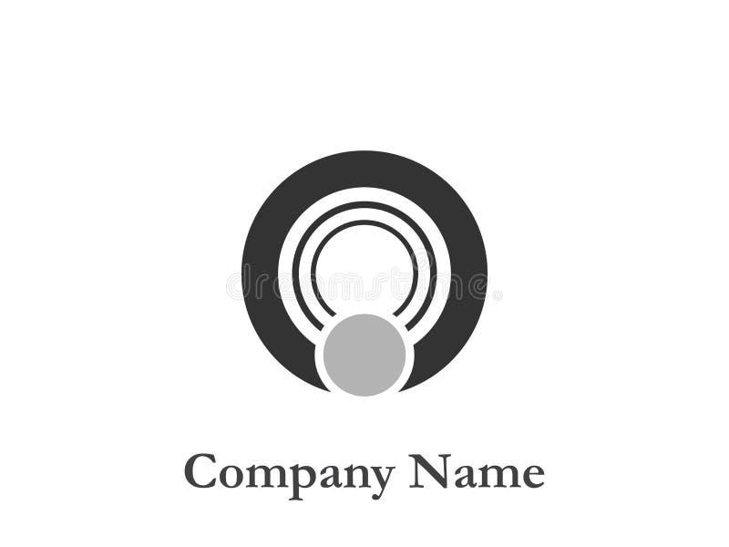 korporacyjny logo royalty ilustracja
