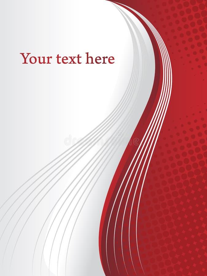 Korporacyjny prezentacja projekt z tekst przestrzenią obraz royalty free