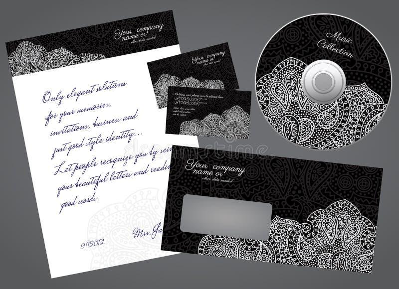 Korporacyjny stylowy materiały royalty ilustracja