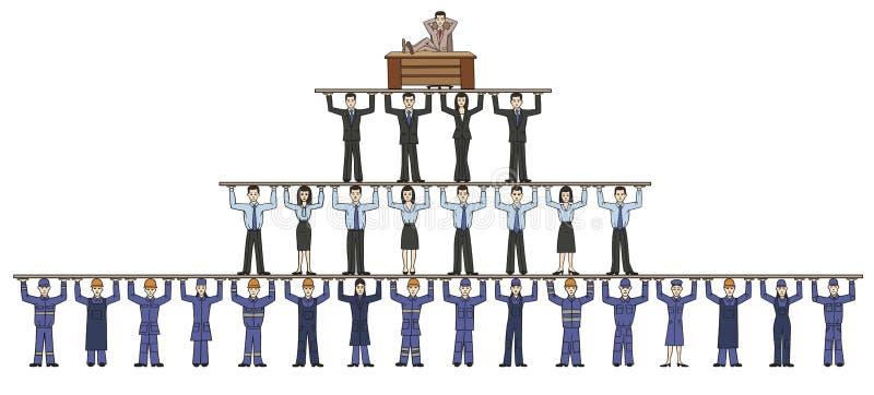 korporation vektor illustrationer