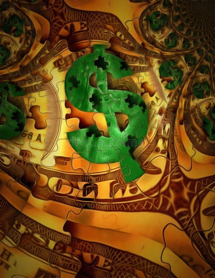 korporationen Sehr schöne dreidimensionale grafische Illustration vektor abbildung